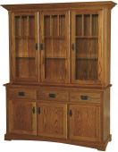 Livonia 3-Door China Cabinet