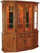 Livonia Canted Front Hutch