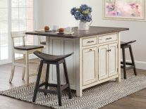 Pocatello Kitchen Island Set
