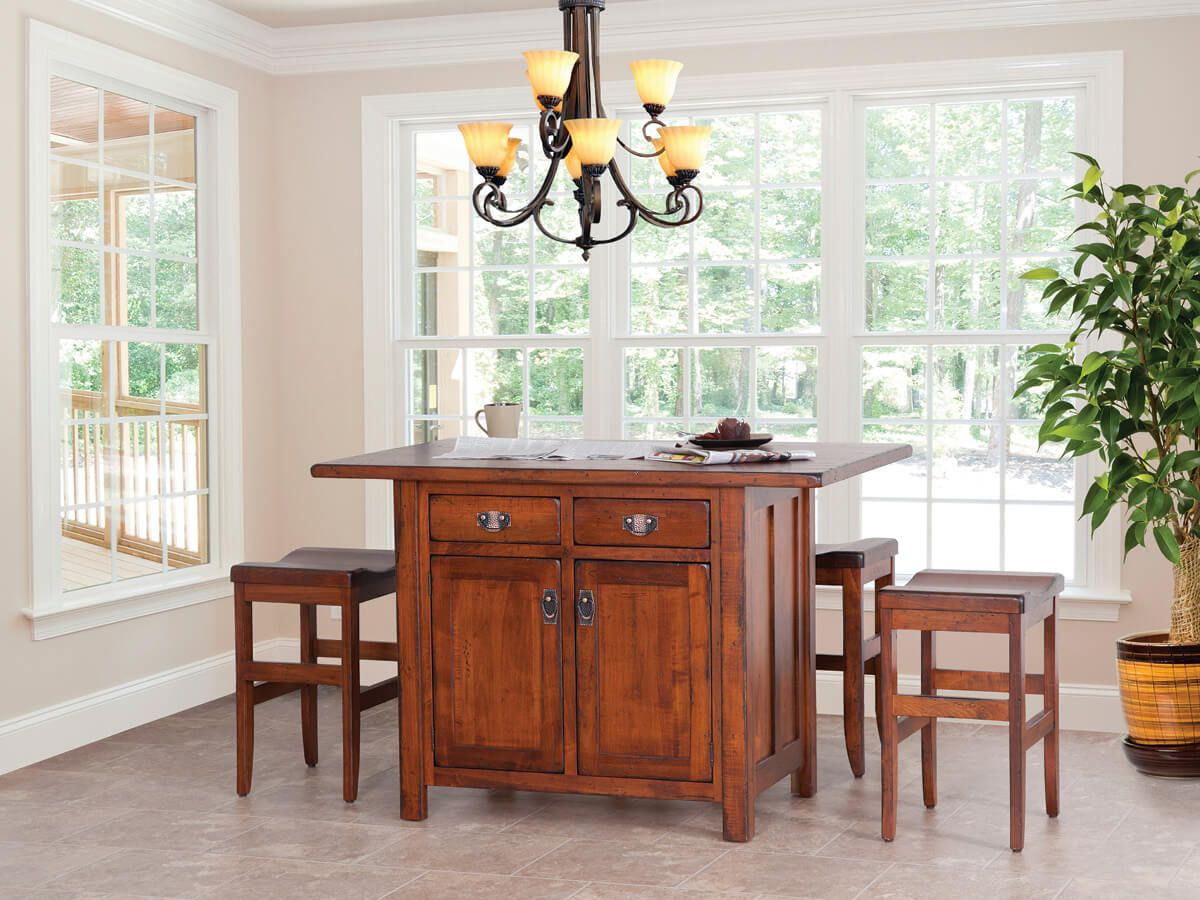 Shown with Sibbick Bar Chairs