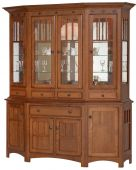 Wheeling Canted Front Hutch