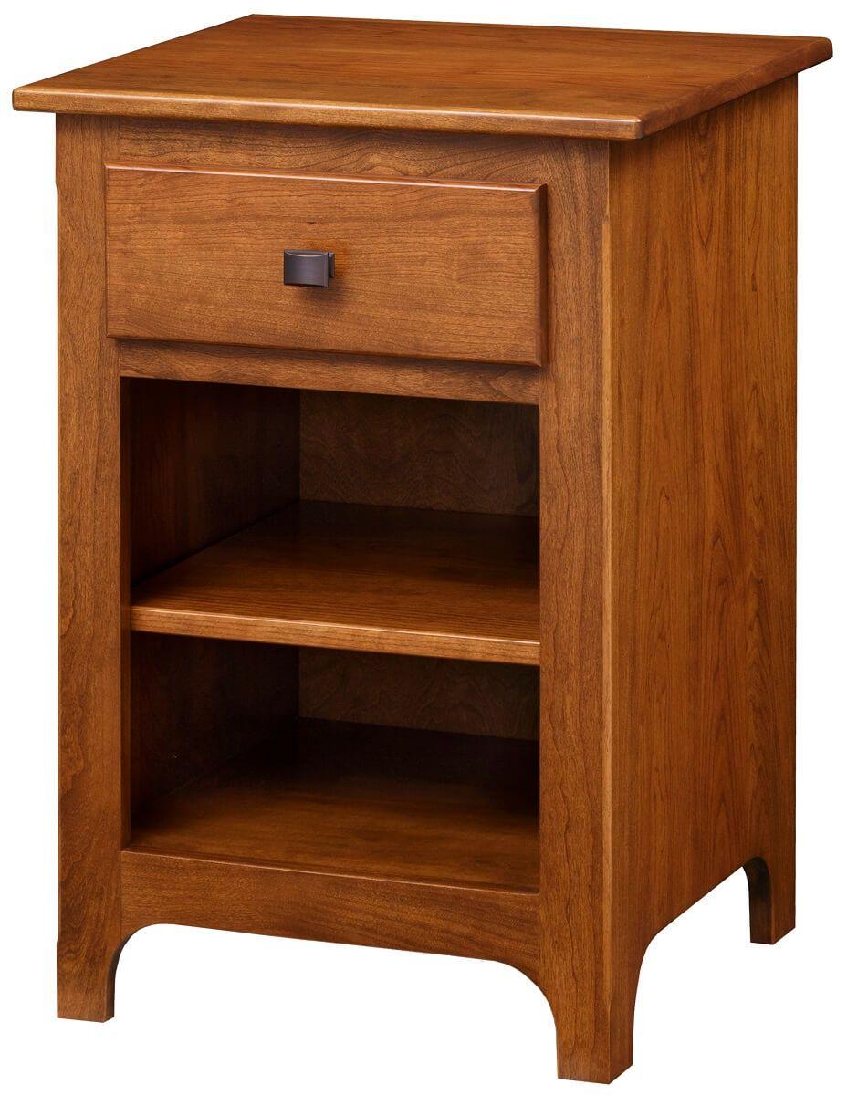 Huntington Narrow Nightstand Countryside Amish Furniture
