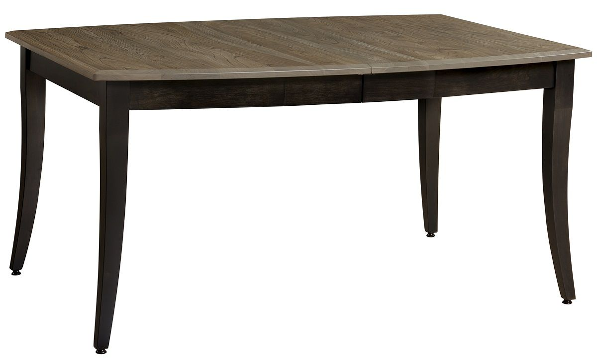 Leg Table with Optional Leaves