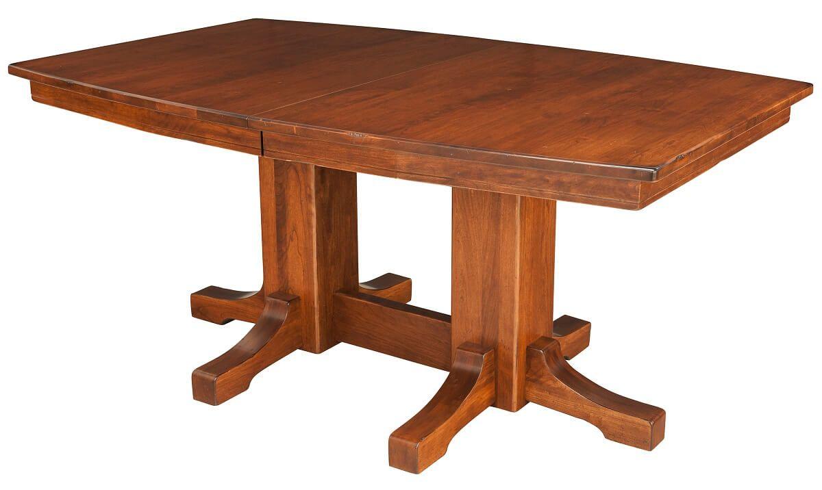 Delphos Double Pedestal Table