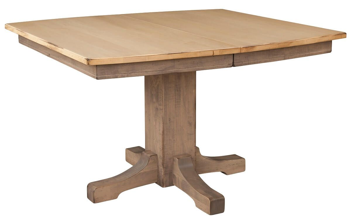 Two Tone Mission Dining Table