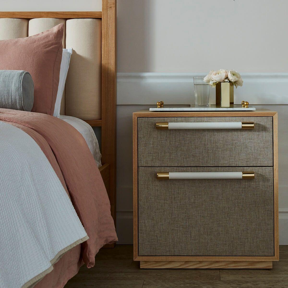 Modern Upholstered Bedside Table