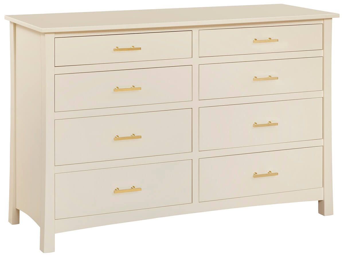 Painted Double Dresser