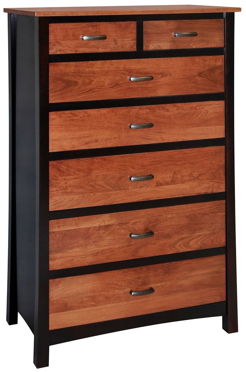 Two Tone Drawer Chest