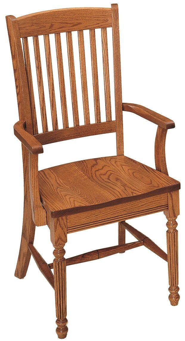 Hubbard Oak Arm Chair