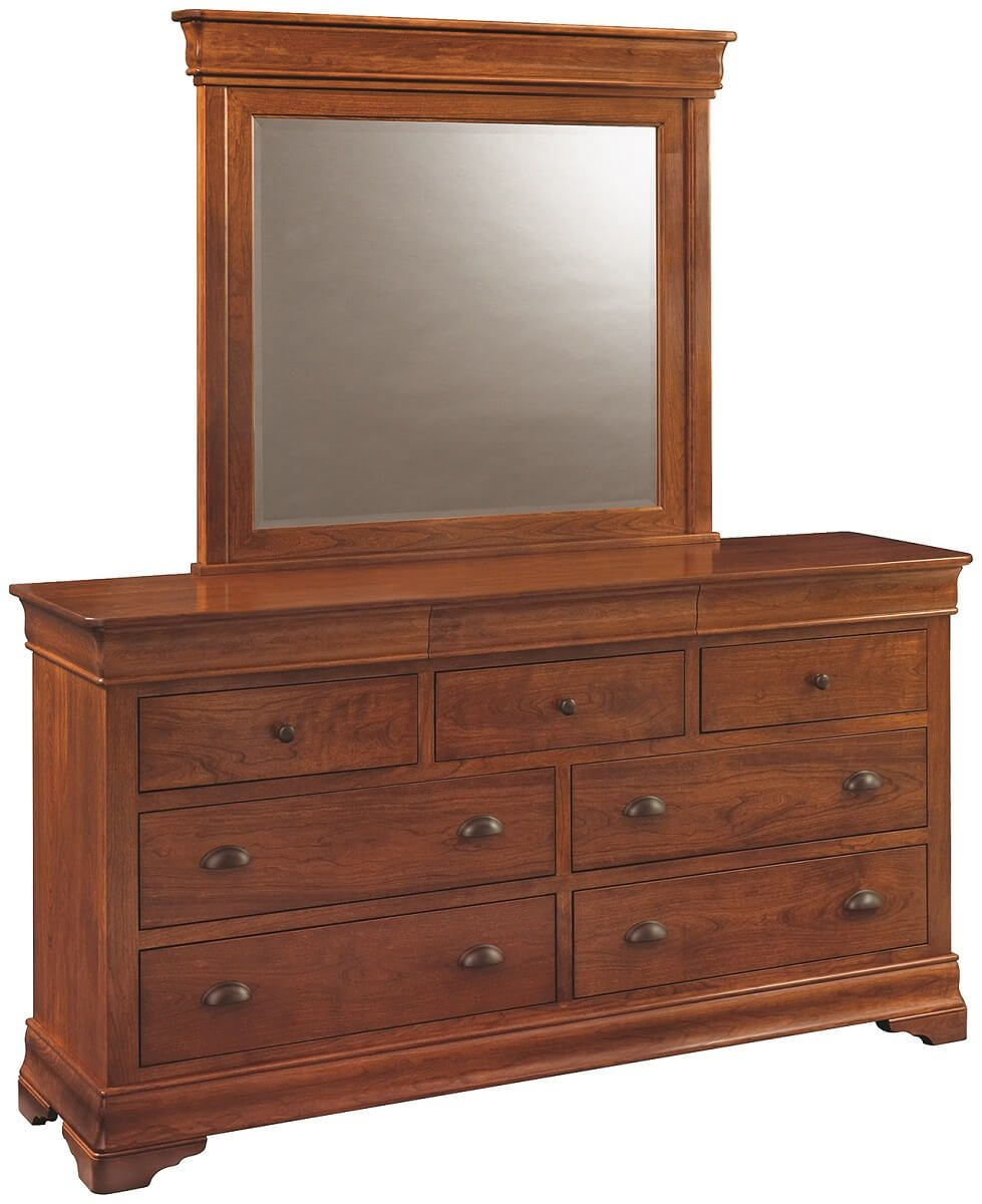 Kirklin Mirrored Dresser