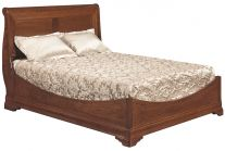 Kirklin Sleigh Bed with Low Footboard