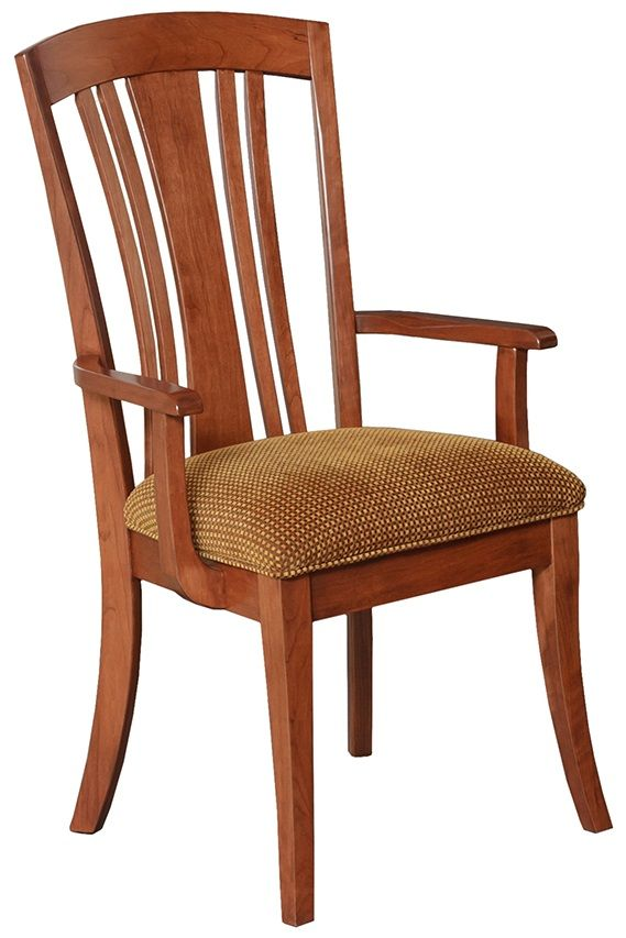 Upholstered Arm Chair Seat