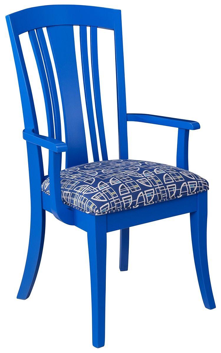 Painted Hardwood Chair