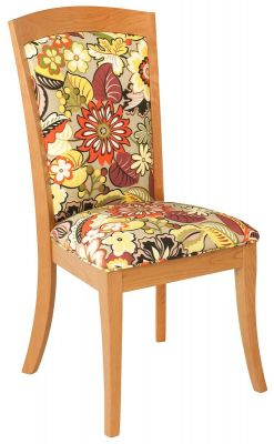 Side Chair with Fabric Upholstery