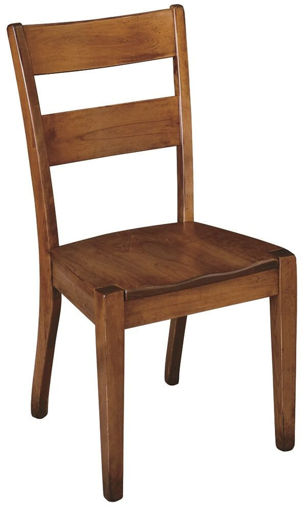 Side Chair with Wooden Seat