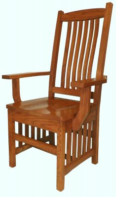 Lake Carlos Mission Dining Chairs Countryside Amish Furniture