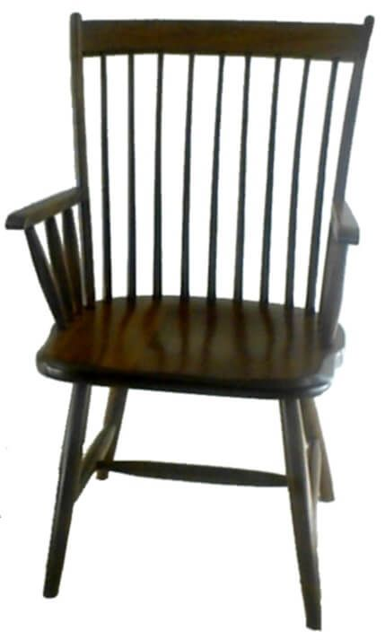 Lodi Spindle Back Dining Arm Chair