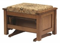 Colonial Cottage Glider Ottoman