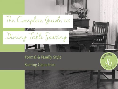 The Complete Guide to: Dining Table Seating Capacity