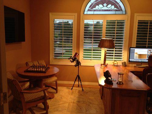 Tiger Maple Makes Beautiful Addition to Home Office