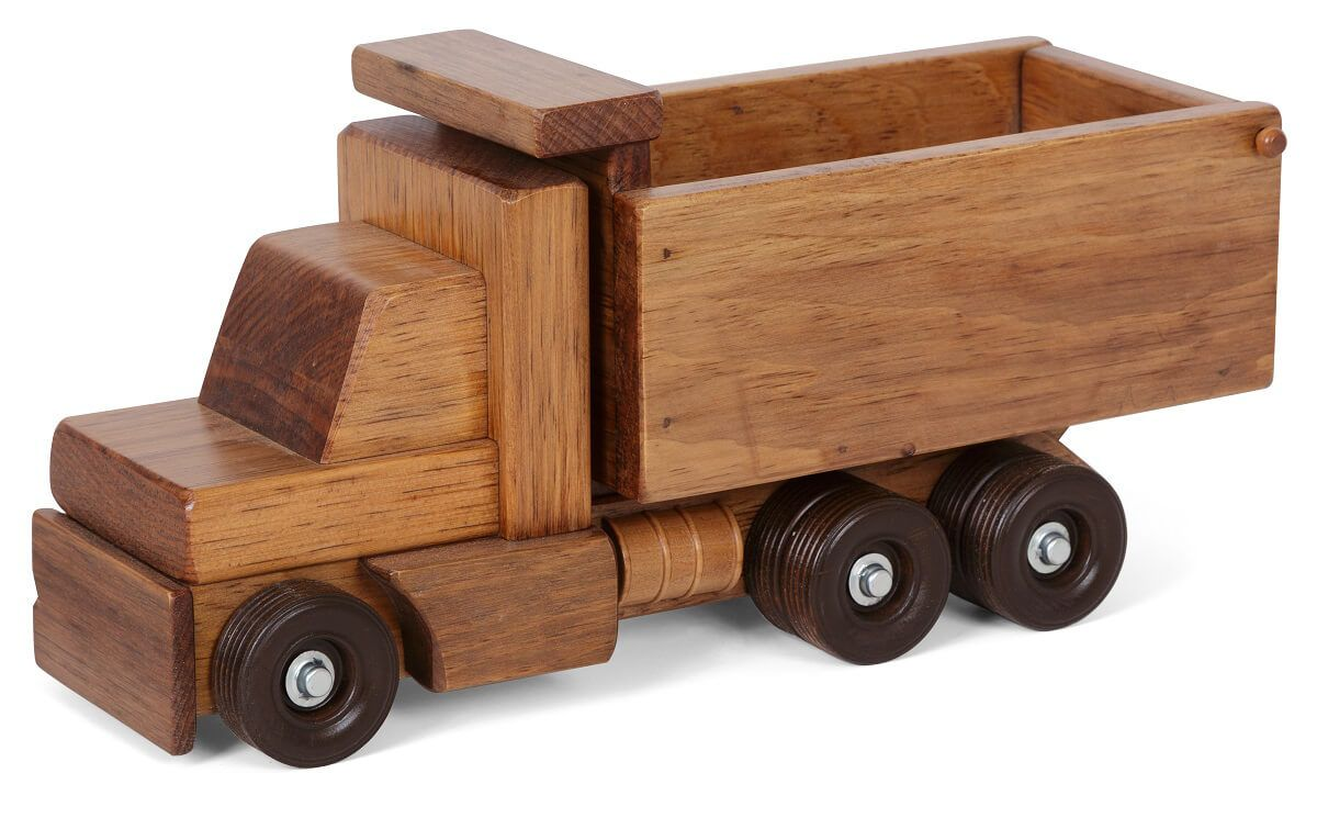 American Made Toy Dump Truck