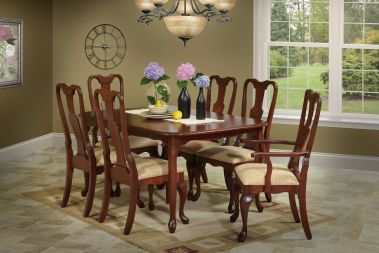 Queen Anne Wooden Furniture - Countryside Amish Furniture