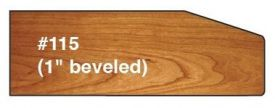 Canal Dover 1 Inch Beveled Edge