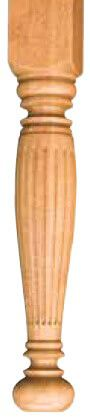Northern Reeded 4.5 Inch Leg