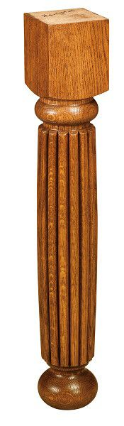 West Point Hobson Reeded Leg