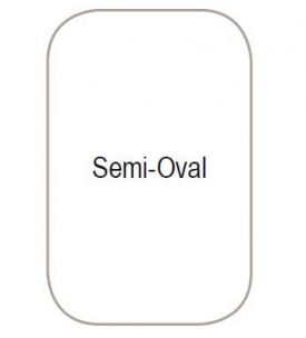 Northern Semi Oval Top