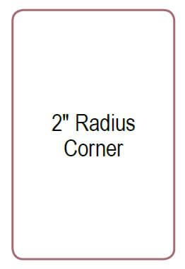 Northern Two Inch Radius Corner