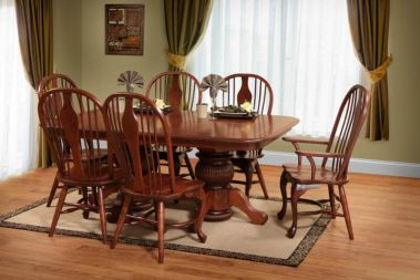 double pedestal tables dining  u0026 kitchen tables   countryside amish furniture  rh   countrysideamishfurniture com