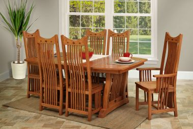 Wooden Mission Furniture From Countryside Amish