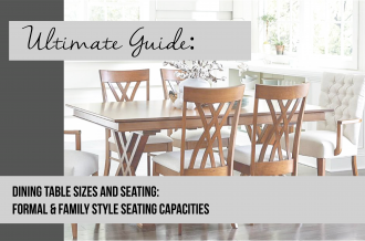 The Complete Guide to Dining Table Seating Capacity