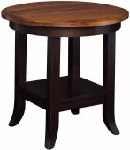 Aragon Round End Table