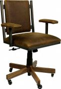 Bradgate Park Leather Desk Chair