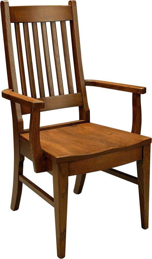 Giles Amish Handmade Arm Chair