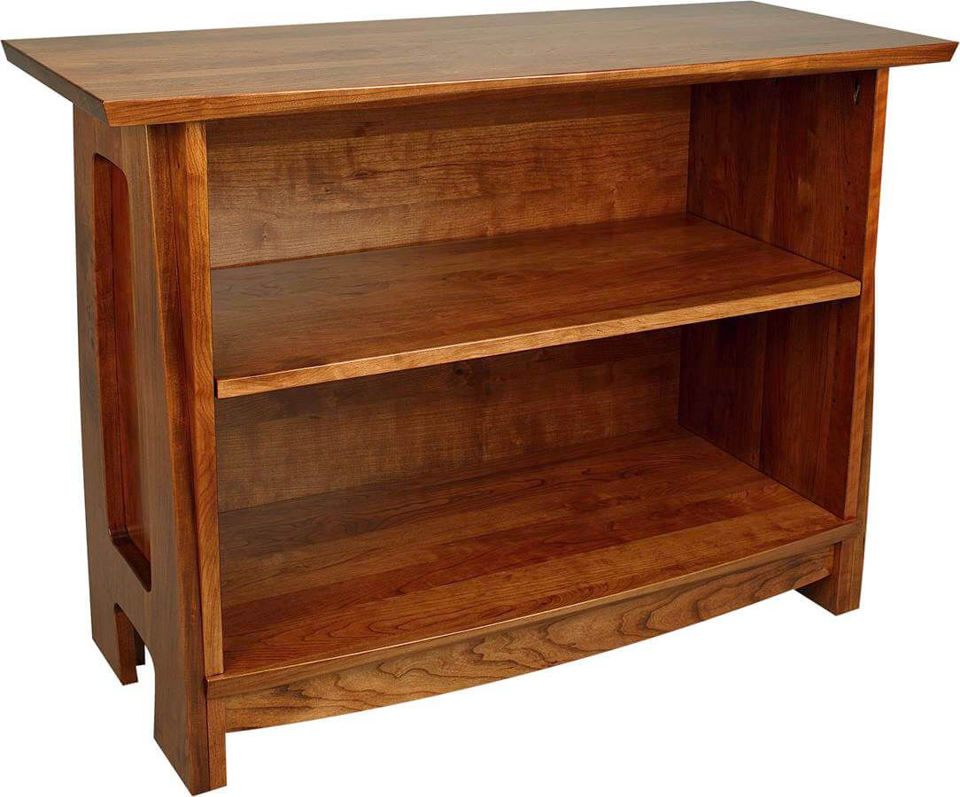 Watkins Glen Console Bookcase