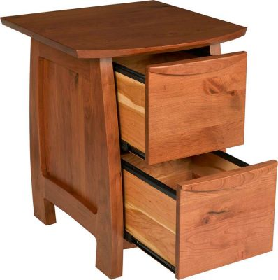 Solid wood makes our Watkins Glen set durable