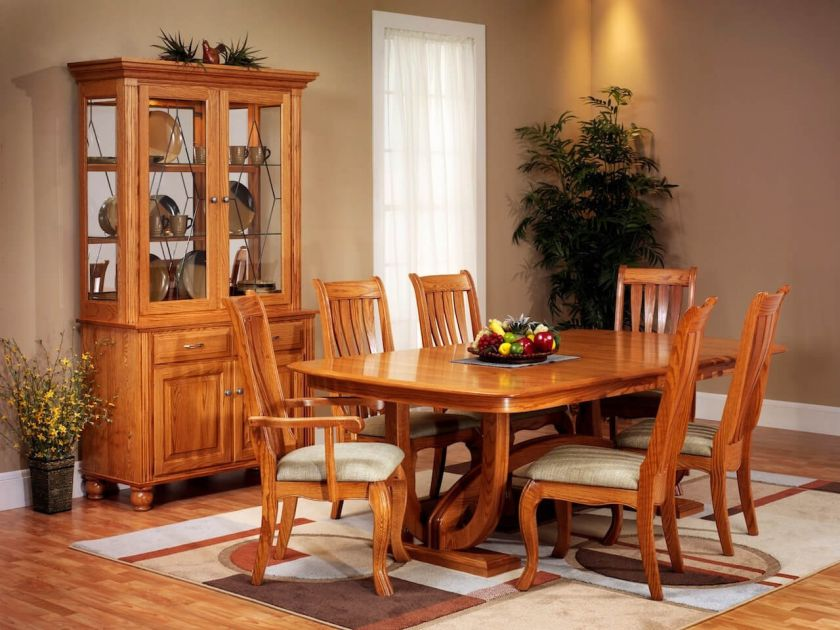 Oak Furniture Dining Tables Countryside Amish Furniture