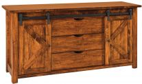 Nolan Barn Door Sideboard