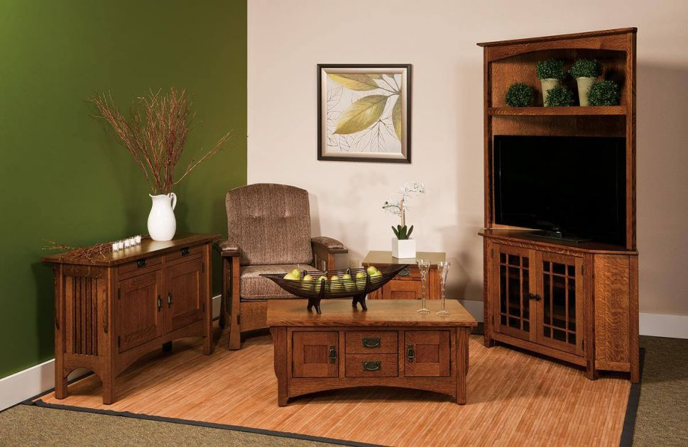 Roosevelt Amish Living Room Set Countryside Amish Furniture