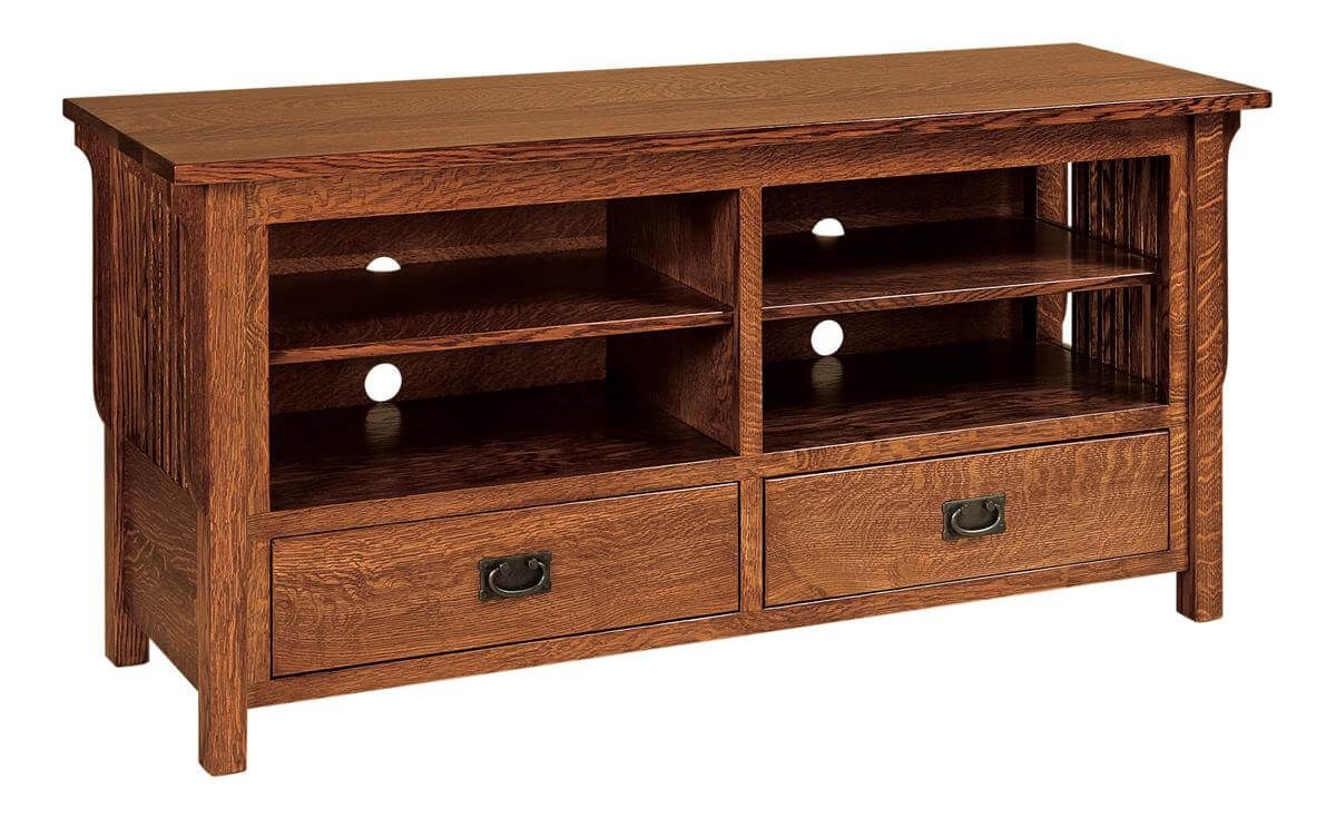 Large Tv Cabinets Rushmore Large Tv Cabinet With Storage Countryside Amish Furniture