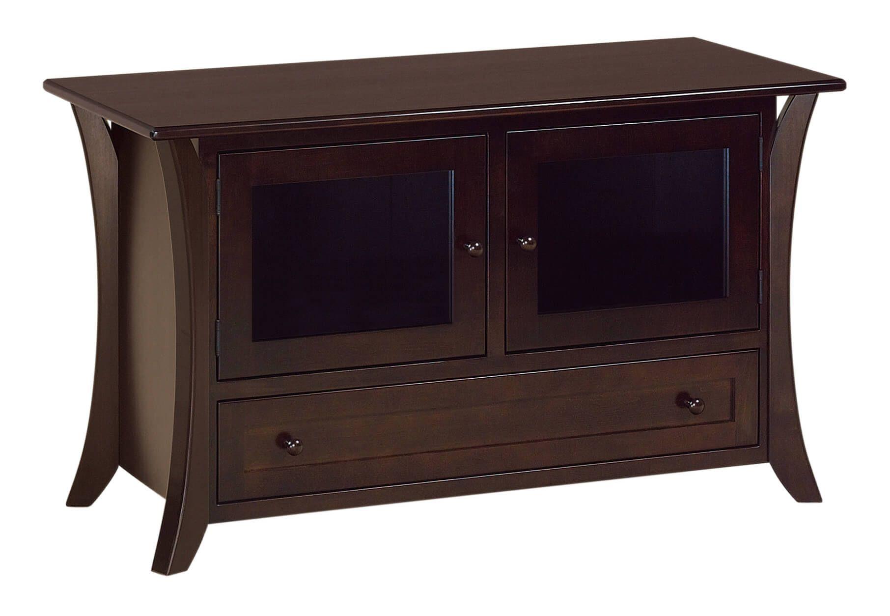 Rockefeller 2-Door Media Stand - Countryside Amish Furniture