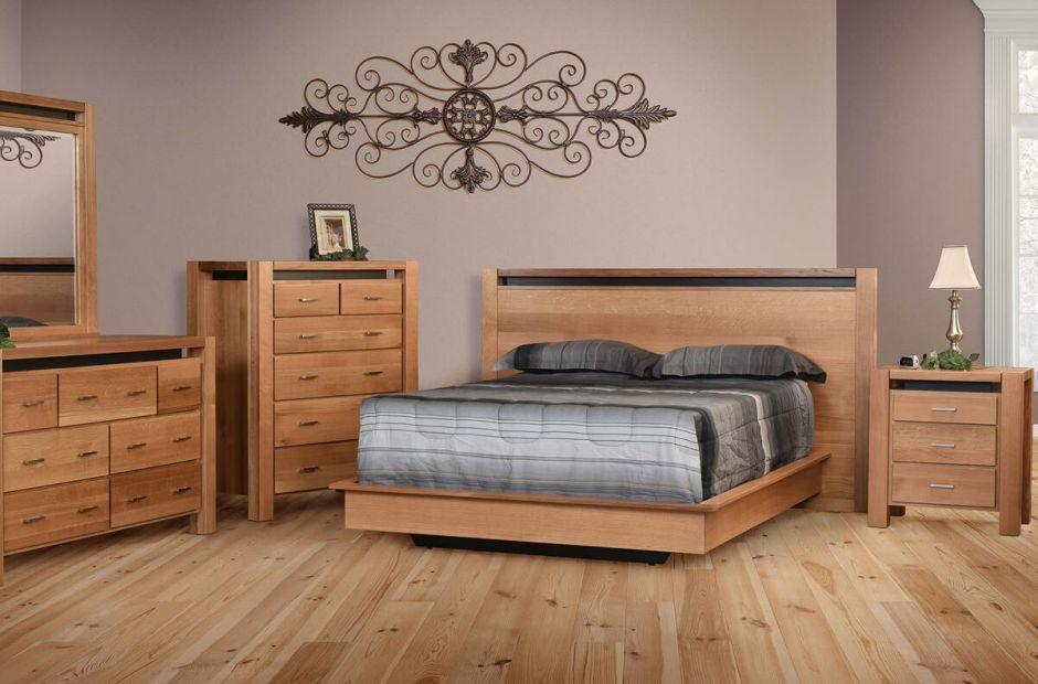 Anastasia Modern Bedroom Set - Countryside Amish Furniture