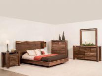 Phoenix Live Edge Bedroom Set