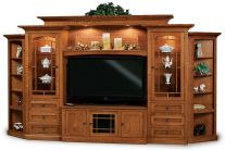 Ridgecrest Large Home Entertainment Center