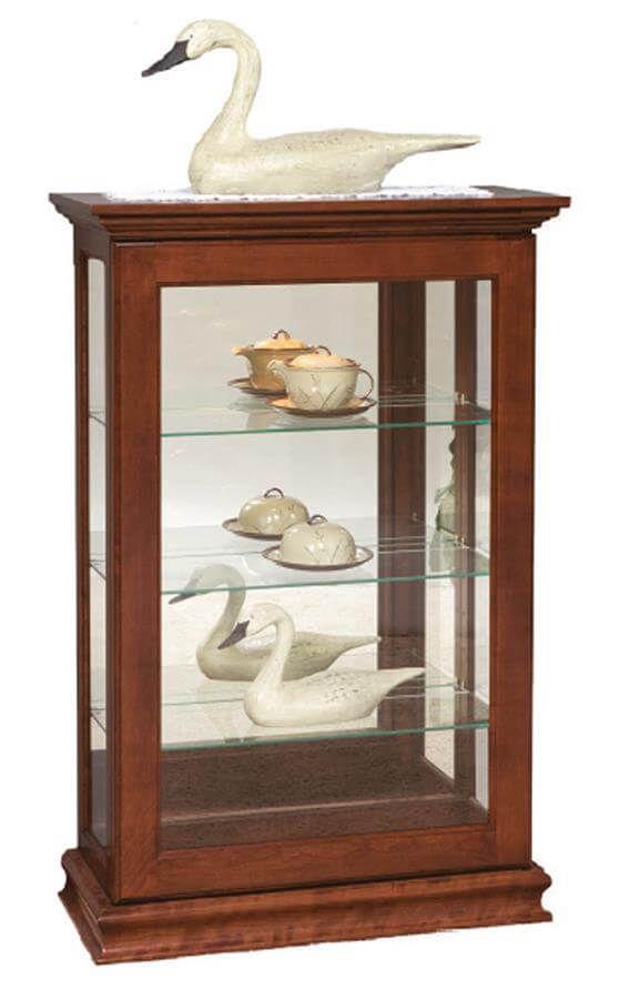 Amelia Glass Curio Cabinet