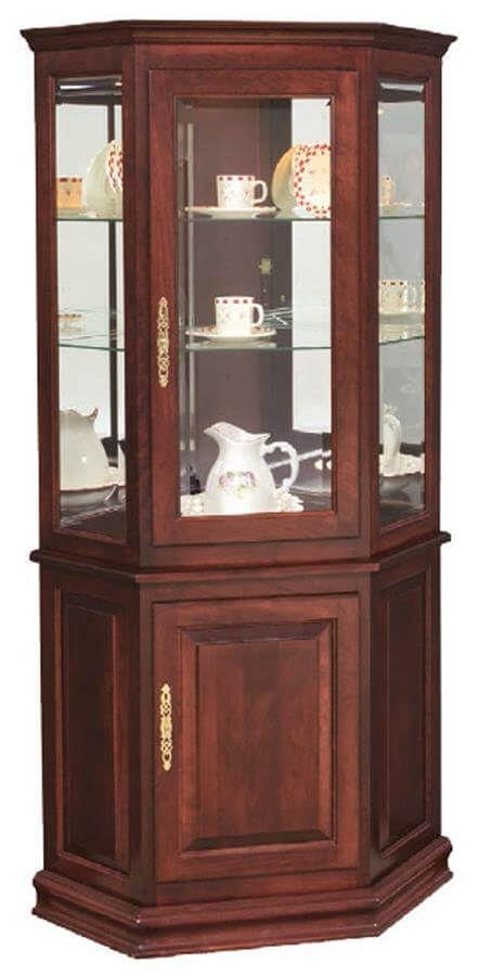 Chartres Corner Curio Cabinet
