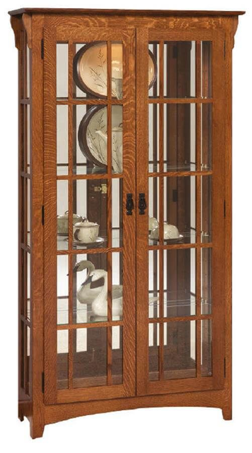 Escondido Glass Curio Cabinet
